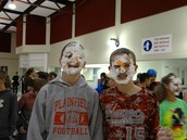 STUDENTS, SHAVING CREAM AND CHEETOS...OH MY