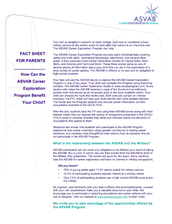 Parent Information Fact Sheet