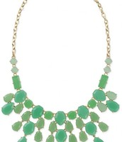 Linden Green Necklace