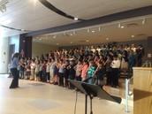 An inspiring Grade 3 & 4 Concert!