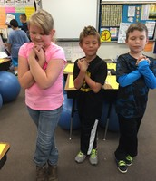 Photo Scavenger Hunt for Mystery Day! Brain Thinking Pose!