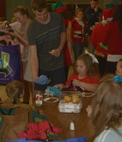 Community Members Enjoy a Festive Feast