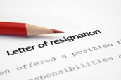 Resigning from a Respective Employment Contract
