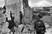Destruction after the war