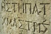 Roman laungauge and writing