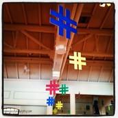 Hashtags !