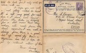Soldier's letter