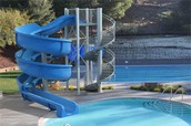 This is a water slide