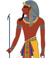 Pharaoh or rich people clothing