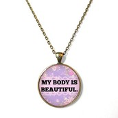 My Body is Beautiful Necklace