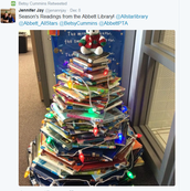 Library's Beautiful Christmas Tree