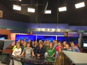 Touring Channel KXII News Station with Jesse Schroeder