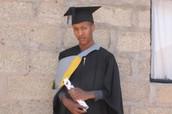 Sponsored Child Now a University Graduate