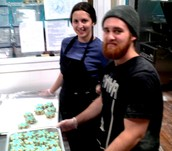 Very Vegan and Talented Bakers, Shane and Tayler