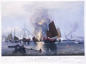 First opium war in China - 1838-1842