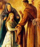 St. Clare and St. Francis