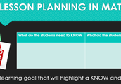 (3)Setting a Learning Goal for the Lesson