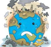 Harming the world.