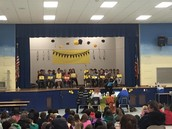 Spelling Bee-These kids worked hard to get here!