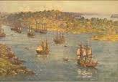 When The First Fleet Landed At Australia