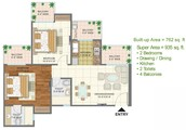 About  Floor Plan :-