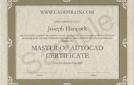 Certifed in autocad