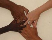 We all are the same the color doesn't matter.