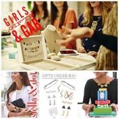 Girls, Gifts, & Gab!