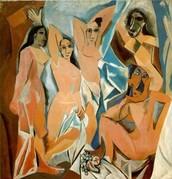 Les demoiselles d'Avignon  -Pablo Picasso
