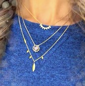 Layer it! 3 perfect delicate layering necklaces! *under $50!!
