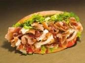 Barbecue kebab (pita bread optional)