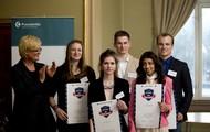1.pris-vinnerne i Unge Forskere 2013