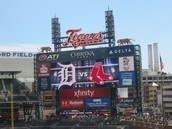 Tigers vs. Red Sox