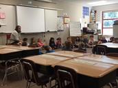 Mrs. Waller's class morning meeting