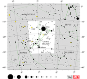map of the constellation