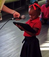 Using new technologies to gather our learning; even if you're 5!