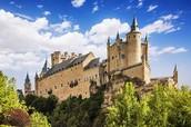 castillo Alcázar de Segobia