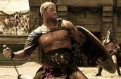 When Hercules is fighting in war