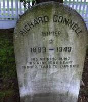 his gravestone.