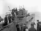 GERMAN U-BOATS