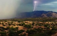 Arizona Monsoon in the Sonoran Desert