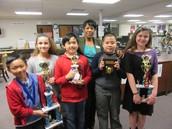 5th Grade Science Fair Winners!
