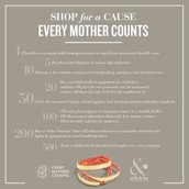 Shop for a cause -- Every Mother Counts