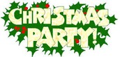Christmas Social Party, December 20th at 6:00