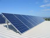 Where is solar energy found?