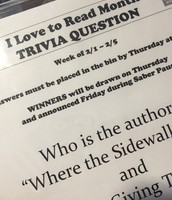 Weekly Trivia Questions