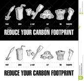 REDUCE YOUR CARBON FOOTPRINT!!