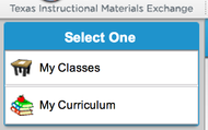 "Click on ""My Classes"""
