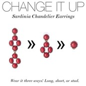 Sardinia Chandelier Earrings- Were $59 Now $30