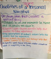 Qualities of a Strong Personal Narrative